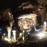 Nativity scene inside the Cathedral