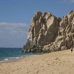 A beach near Land's End, facing the Sea of Cortez.