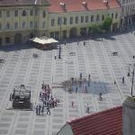 Sibiu's Great Plaza