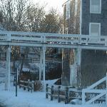 'Sconsett bridge winter 2009