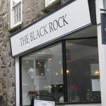 Charming and very chic restaurant, that's the Black Rock!