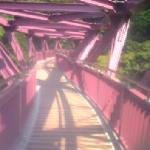 橋も川も美しい眺めです