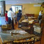 Hotel Mozambicano restaurante
