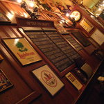 Healthy list of beers to choose from.