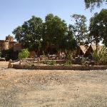 Ksar et jardin
