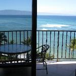 View of Lanai from Living Room
