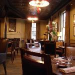 Interior of Murray Circle restaurant
