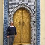En Fez. Puerta del palacio