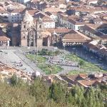 Plaza de armas seen from Sacsyhuaman