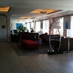 Reception area towards the resturant