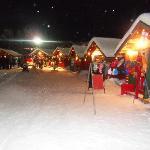 trinket outlets next to ski slopes