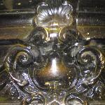 stucco close up