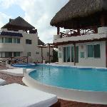 Harmony room infront of pool