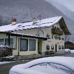 Der Gablerhof im Schnee, Januar 2010