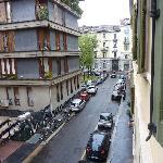 Street view outside window