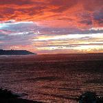 #703 balcony sunset
