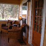 Large screened porches