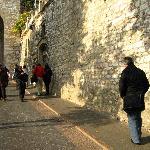 Acesso a Assisi - alguns passos do hotel