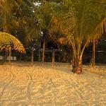 Verandah Suites from the beach