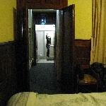 Bathroom down the hall = big room