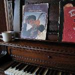 coffee by the piano