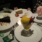 Their desserts on New Year's Eve