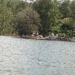 Lake near dam