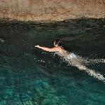 swimming in the cenotes www.alltournative.com
