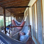 hammock by room door