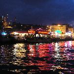 Fish Sandwich Boats near Galata Bridge