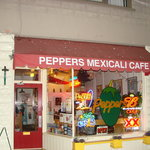 Exterior Pepers Mexicali Cafe