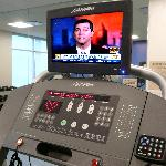 Exercise equipment each with HD TV