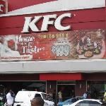 The KFC sells more chicken than any other in the world
