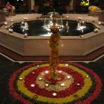 Decorations for Divali