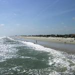 Strand und Umgebung vom Hotel