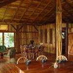Upstairs living area, kitchen island