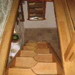 stairs in attic space, app.no1