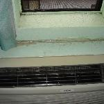 Mold around heater