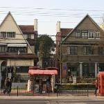 Buildings in the French Concession.