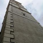 The bell tower of St. Marco's church...