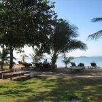 our hotel beach