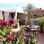 Les terrasses du Riad Dar Attika