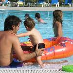 Young children friendly pool area