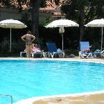 Pool area, spacious and well equiped