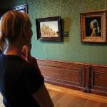 Conversation in Mauritshuis, Den Haag