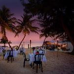 Sunset Dinner Setting