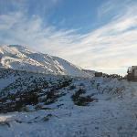 the drive up to Mt Hutt