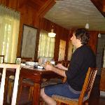 Desayunando en Wesley