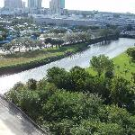 Dadeland Mall view from bedroom