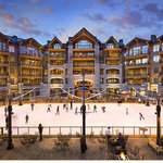 Great Bear Lodge overlooks the Northstar California skating rink